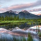 Sundance Over Water by Justin Atkins