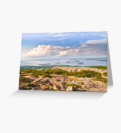 Acadia from Cadillac Mountain Greeting Card