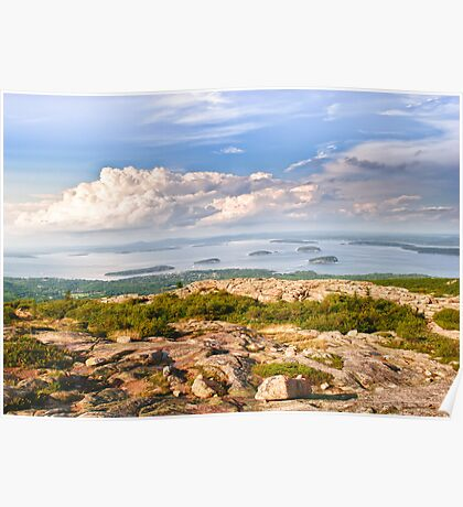 Acadia from Cadillac Mountain Poster