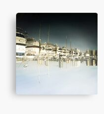 Upside Town  Canvas Print