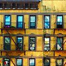 Yellow Building NYC by Ellen  Hagan