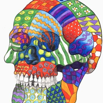 Patchwork Skull by jf901