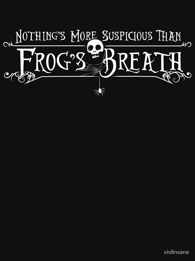 Frog's Breath by violinsane