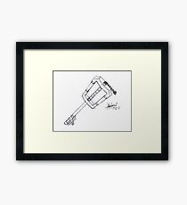 Keyblade Framed Print