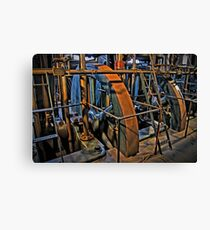 Little Cogs In A Big Wheel Canvas Print