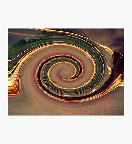 Into the Vortex Photographic Print
