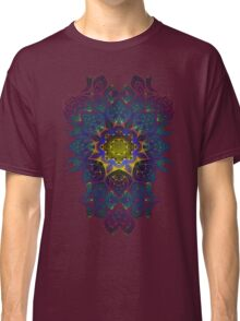 Psychedelic Fractal Manipulation Pattern Classic T-Shirt
