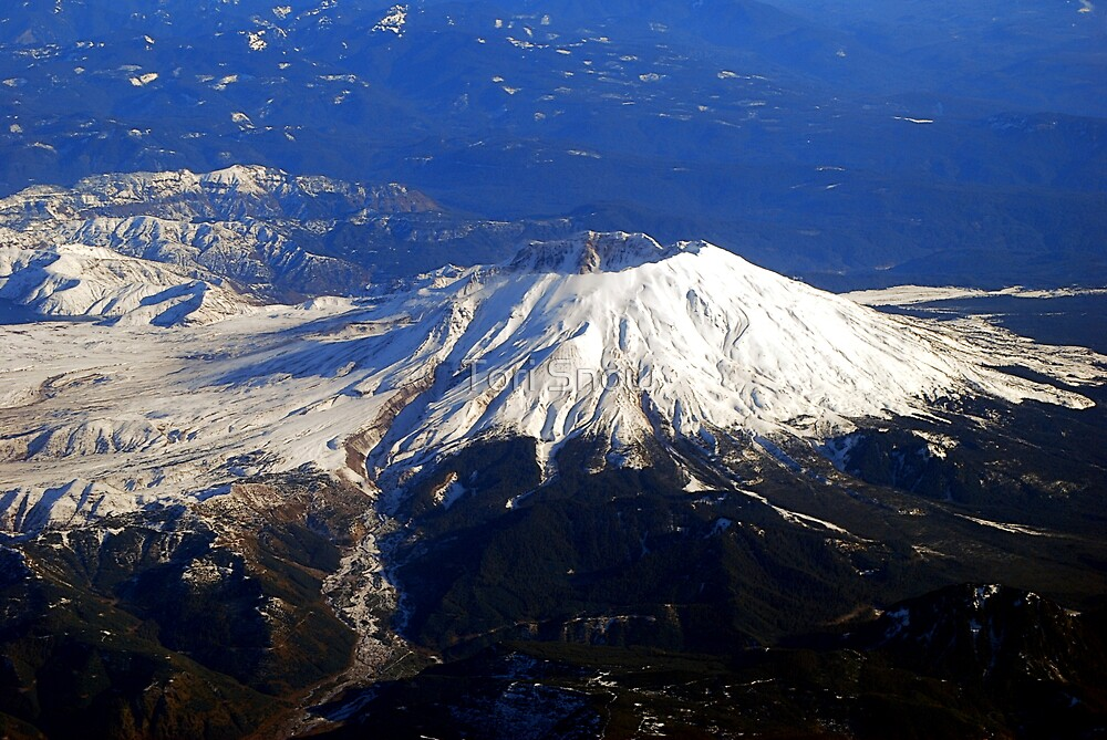 Fly By Mt.St. Helens by Tori Snow