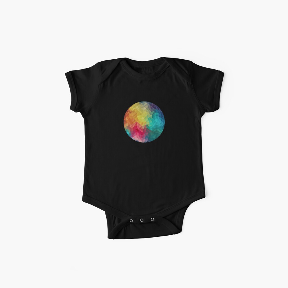 Abstract Color Wave Flash Baby Body