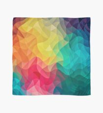 Abstract Color Wave Flash Tuch