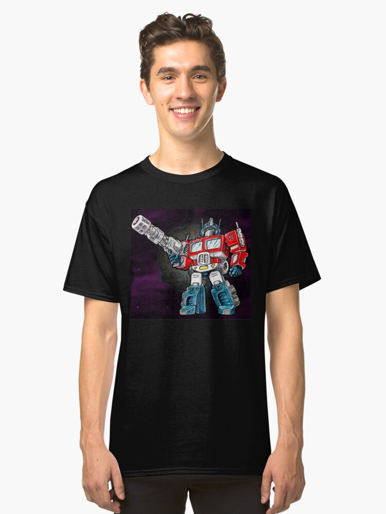 Transformers Optimus Prime Chibi Classic T-Shirt Front