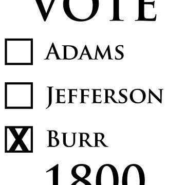 Vote Burr! by danimariex