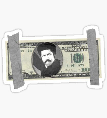 Black Dynamite Bill Sticker