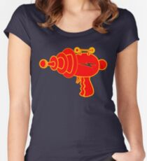 Ray Gun Women's Fitted Scoop T-Shirt