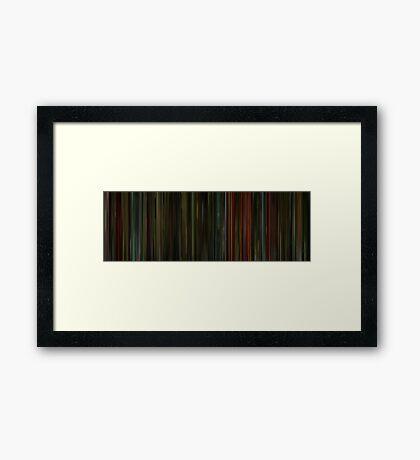 Moviebarcode: 2046 (2004) Framed Print