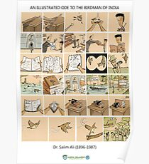 The Illustrated Life of Dr. Salim Ali- the Bird Man of India Poster