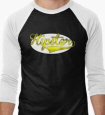 HIPSTER TEE | YELLOW Men's Baseball ¾ T-Shirt