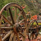 0426 Old Cart by DavidsArt