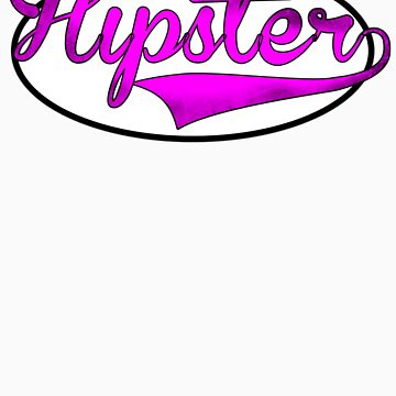 HIPSTER TEE | PINK by RhysDesigns94