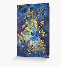 A Burst of Spring  Greeting Card