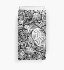 Squiggles on your iPhone - Psychedelic Art Duvet Cover