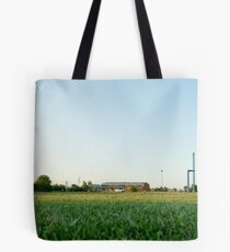 Some factories in the distance Tote Bag