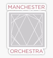 Manchester Orchestra Simple Math Sticker Sticker
