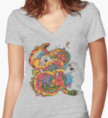 Holiday Imp Women's Fitted V-Neck T-Shirt