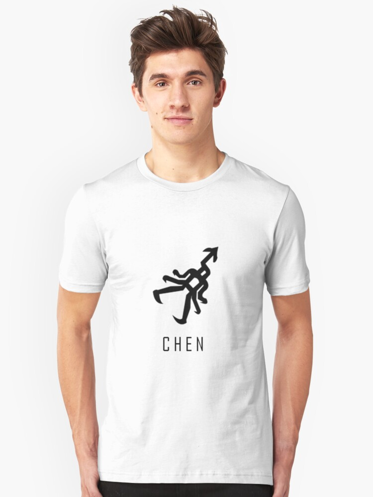 EXO Chen Name Unisex T-Shirt Front