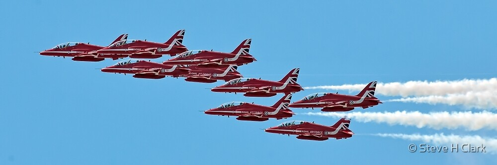 The 2015 Red Arrows  by © Steve H Clark