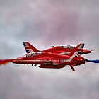 Red Arrows Painting the Sky 2015 by © Steve H Clark