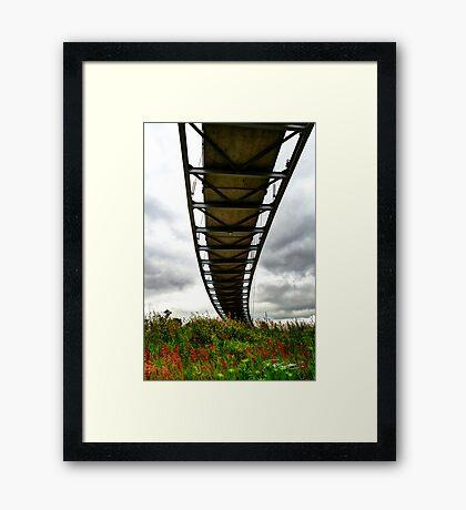 Tornado Bridge Framed Print
