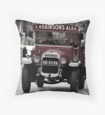 Delivering The Ale Throw Pillow