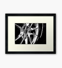 Porsche Wheel Framed Print