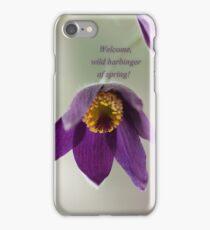 Ode to Spring ~ Crocus iPhone Case/Skin
