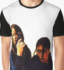 """Person of Interest """"Root & Shaw"""" (Re-Color) Graphic T-Shirt"""