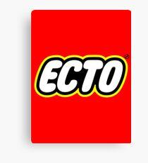 LEGO x ECTO logo v2 Canvas Print