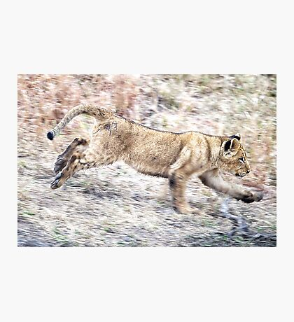 I Can Run ! Photographic Print