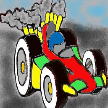 Kids race car  by spcolsen0297