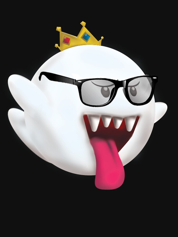 Hipster King Boo by ZachTGP