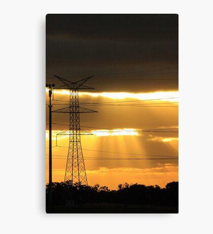 Power Of The Sun Canvas Print