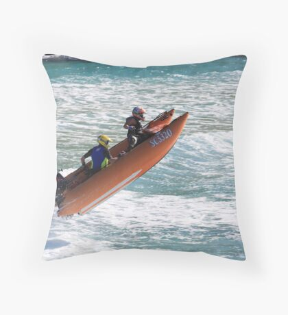 Thunderboat Racing Throw Pillow
