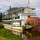 Tourist paddle steamer. Fairbanks, Alaska, 2012. by johnrf
