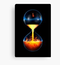 Old flame Canvas Print