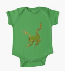 European Green Tree Frog Isolated Kids Clothes
