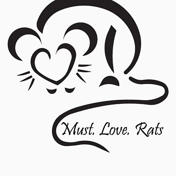 Rat by MustLoveRats