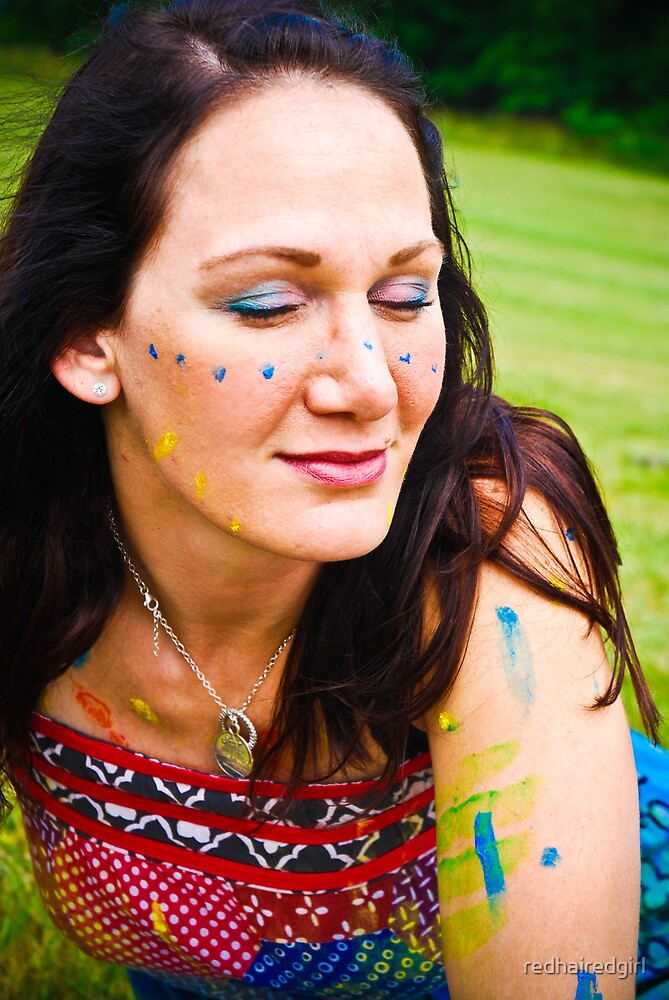 Hippie Tina by redhairedgirl