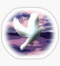 The Messenger of Freedom. Sticker