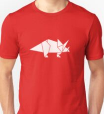 Prehistoric Origami - Triceratops  Unisex T-Shirt