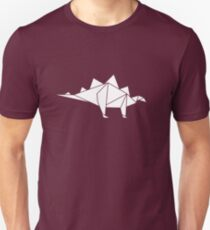 Prehistoric Origami - Stegosaurus Unisex T-Shirt